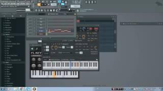 كيفية عزف موسيقة tum hi ho - FL studio