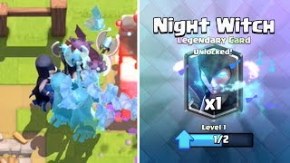 Clash Royale - 12 WIN NIGHT WITCH CHALLENGE! Tips & Tricks