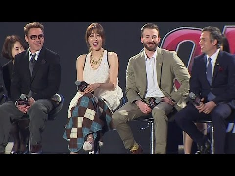 Xxx Mp4 Avengers Age Of Ultron Korea Fan Event Claudia Kim Robert Downey Jr Chris Evans Mark Ruffalo 3gp Sex