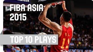 Top 10 Plays - 2015 FIBA Asia Championship
