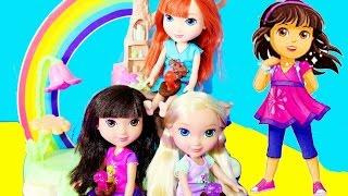 Play-Doh DORA & FRIENDS Dora THE EXPLORER Nickelodeon Dora Surprise Play-Doh Puppy Kinder Kids Video