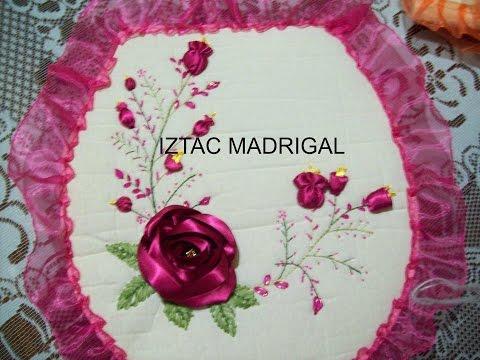 24 DIY Rosa estrella en cintas Iztac Madrigal