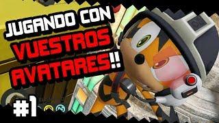 JUGANDO CON VUESTROS AVATARES!! #1 | Sonic Forces