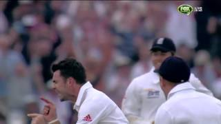 Clarke Dismissed by J. Anderson - Day One, First Ashes Test, 2013
