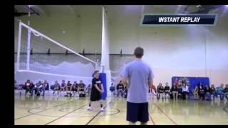 SMASH BOLA VOLI PALING KERAS ( Spike Volleyball Terkeras )
