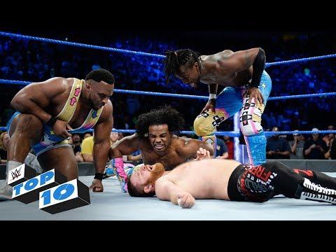 Xxx Mp4 Top 10 SmackDown LIVE Moments WWE Top 10 November 21 2017 3gp Sex