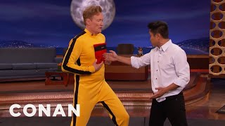 Steven Ho Hits Conan With Bruce Lee