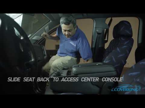 Coverking Custom Seat Cover Installation on 2014-2017 Chevy Silverado
