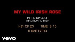 Traditional Irish Song - My Wild Irish Rose (Karaoke)