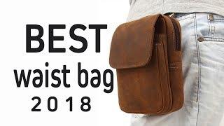 Best leather waist bag 2018 | new design leather waist bag