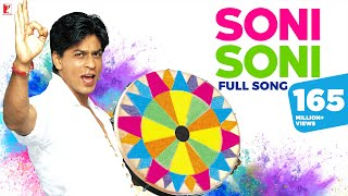 Holi Song - Soni Soni - Full Song | Mohabbatein | Amitabh Bachchan | Shah Rukh Khan | Aishwarya Rai