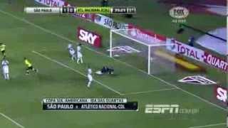 Gols de São Paulo 3 x 2 Atlético Nacional - Copa Sul Americana