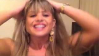 Carine Felizardo e Isis Gomes Twitcam