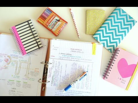 Back to school : mes conseils pour s'organiser