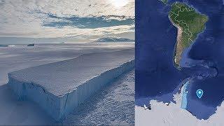 ASI ES EL GIGANTESCO ICEBERG QUE SE DESPRENDIÓ DE LA ANTÁRTIDA 12.7.17