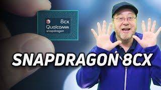 What is the Qualcomm Snapdragon 8cx?