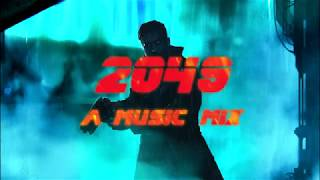 Synth Runner 2049 - A Music Mix (Cyberpunk, Future Synth, Darksynth)