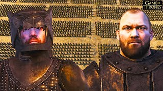 THE HOUND VS. THE MOUNTAIN GAME OF THRONES! Seven Kingdoms Total War Battle Gameplay