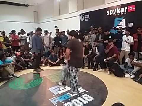FREEZE 2016 Bangalore | POPPIN ASHY (Kerala) vs T-WAVE(Chennai) | Popping Qualifier Round