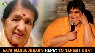 Lata Mangeshkar's reply to Tanmay Bhat