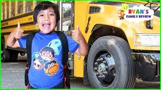 Ryan First Day Back to School Morning Routine!!!!