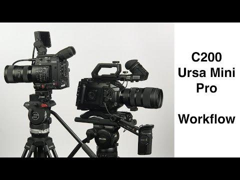 C200 Workflow & Choosing a Cinema Camera