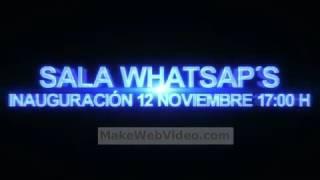 Inauguración Sala WhatsAps