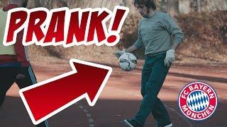 FC Bayern Prank! Alaba, Ribéry und Rafinha nehmen Berufsschüler auf den Arm