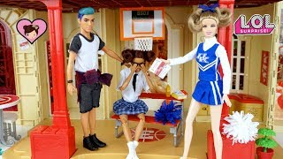 LOL Surprise Teenage Punk Boi Stands up to the Bully Barbie Cheerleader