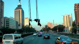 Beijing City Tour - Trip to China part 14 -Travel video HD