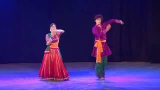 Bhajan : Om Namo Bhagavathe Vaasudevaya ! choreographed & performed by Nirupama & Rajendra