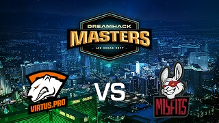 Virtus Pro vs. Misfits - Cobblestone - Group B - DreamHack Masters Las Vegas 2017