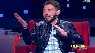 """أحمد زاهر يعلق على صورة تامر حسني وهيفاء وهبي في """"رشيد شو"""""""