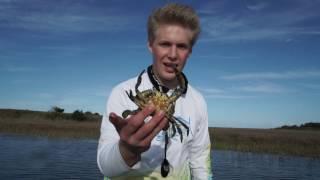 Carolina Beach Flats Fishing (New Boat Broke Down)