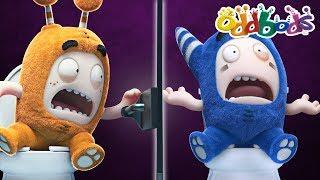 ODDBODS - TOILET TROUBLES | NEW FULL EPISODES | The Oddbods Show | Funny Cartoons For Children