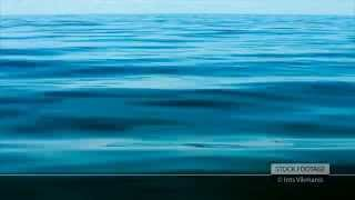 Stock Footage: Blue calm sea water background