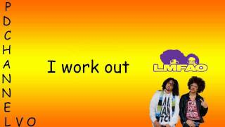 LMFAO - Hot Dog - Lyrics Video