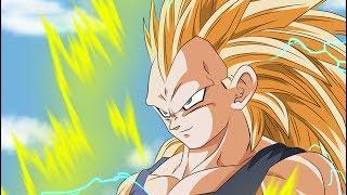 Super Saiyan 3 Goku Vs. Super Saiyan 3 Vegeta- Road to Dragon Ball Z Battle of Z