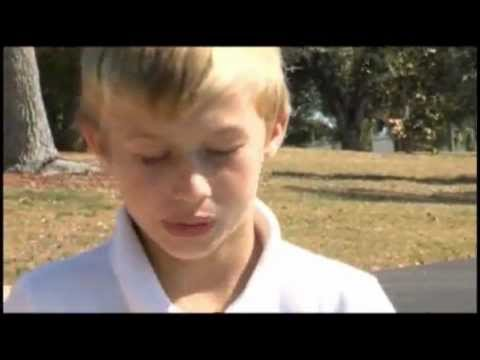 Boy with broken leg jumps in lake to rescue friend