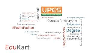 University of Petroleum and Energy Studies   UPES   EduKart
