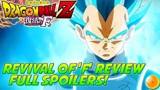 DRAGONBALL Z: Revival Of 'F' Full Movie Review
