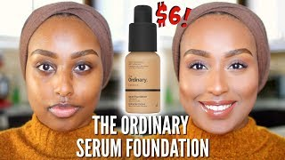 WHY IS THIS $6 FOUNDATION SO POPULAR?? | The Ordinary Serum Foundation | #FOUNDATIONWEEK