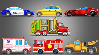 Street Vehicles | LearnIng Vehicles | Car Cartoon | Video For Kids