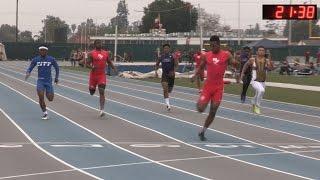 2016 Track - California Relays 200M Boys Large School Final (H1-H5)