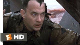 Omaha Beach - Saving Private Ryan (1/7) Movie CLIP (1998) HD