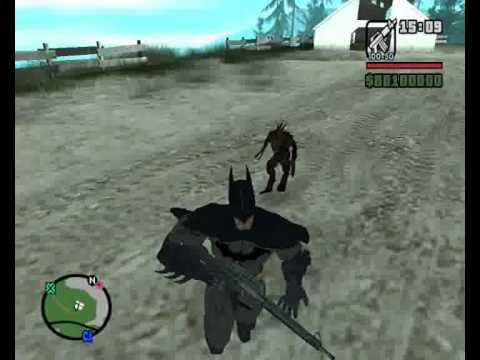 Batman vs el chupacabras gta san andreas