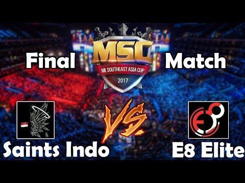 Xxx Mp4 FINAL MATCH SAINTS INDO Vs E8 ELITE MSC Championship Indonesia Mobile Legends 3gp Sex
