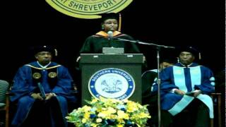 Jacquie Hood Martin Graduation Speech at SUSLA