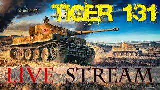 World of Tanks - Tiger 131 tesztelés élőben