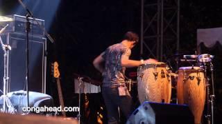 Incognito percussion:drum solo